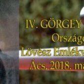 IV. Görgey Artúr Országos Lövész Emlékverseny – Ács, 2018. május 12.