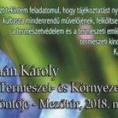 XXVI. Kaán Károly Országos Természet- és Környezetismereti verseny döntője – Mezőtúr, 2018. május 25-26-27.