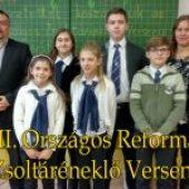 XXIII. Országos Református Zsoltáréneklő Verseny – Budapest, 2018. november 30.