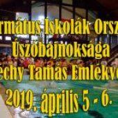 Református Iskolák Országos Úszóbajnoksága XV. Széchy Tamás Emlékverseny – 2019. április 5-6.