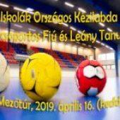 Református Iskolák Országos Kézilabda Bajnoksága II. és IV. Korcsoportos Fiú és Leány Tanulók Részére – 2019. április 16. (kedd)