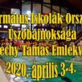 Református Iskolák Országos Úszóbajnoksága XVI. Széchy Tamás Emlékverseny – 2020. április 3-4. (péntek-szombat)