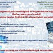 Informatikai rendszerüzemeltető OKJ 54 481 06 felsőfokú szakképzés meghirdetése